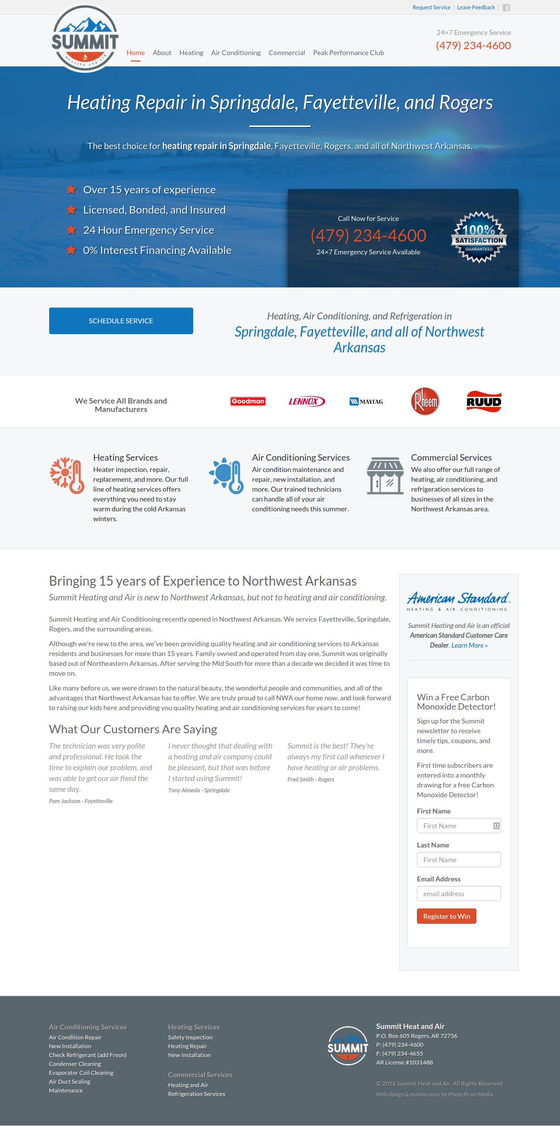 Homepage - Full Version
